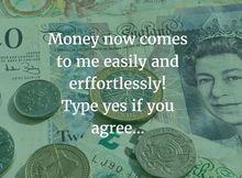 Money flows to me